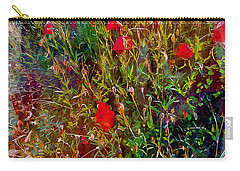 Fantastical Red Poppies Carry-all Pouch