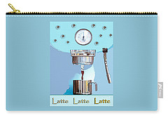 Fantasy Espresso Machine Carry-all Pouch by Marian Cates