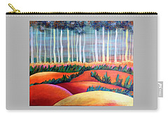 Through The Mist Carry-all Pouch by Elizabeth Fontaine-Barr