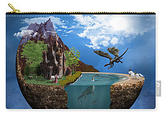 Fantasy Planet 1 Carry-all Pouch