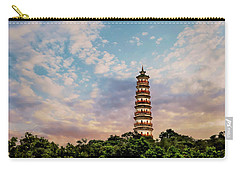 Far Distant Pagoda Carry-all Pouch