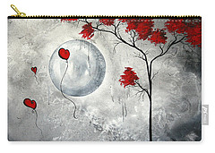 Far Side Of The Moon By Madart Carry-all Pouch