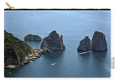 Faraglioni A Capri  Carry-all Pouch