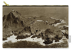 Farallon Island Lighthouse Pacific Ocean April 4, 1924 Carry-all Pouch