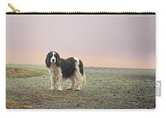 Farm Dog In Fog Carry-all Pouch