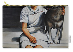 Farm Dog Carry-all Pouch by Jean Cormier