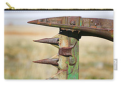Carry-all Pouch featuring the photograph Farm Equipment 1 by Ely Arsha