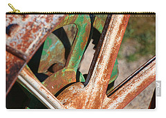 Carry-all Pouch featuring the photograph Farm Equipment 2 by Ely Arsha