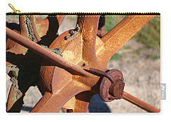 Carry-all Pouch featuring the photograph Farm Equipment 3 by Ely Arsha