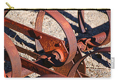 Carry-all Pouch featuring the photograph Farm Equipment 4 by Ely Arsha