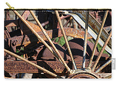 Carry-all Pouch featuring the photograph Farm Equipment 5 by Ely Arsha