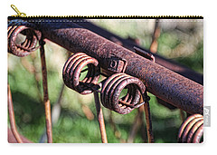 Carry-all Pouch featuring the photograph Farm Equipment 6 by Ely Arsha