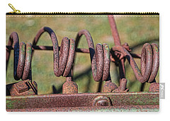 Carry-all Pouch featuring the photograph Farm Equipment 7 by Ely Arsha