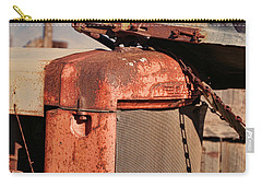 Carry-all Pouch featuring the photograph Farm Equipment 8 by Ely Arsha