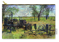 Farm Equipment Carry-all Pouch by Deborah Nakano