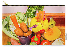 Farm Fresh Produce Carry-all Pouch by Jorgo Photography - Wall Art Gallery