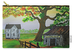 Carry-all Pouch featuring the painting Farm Fresh Veggies by Jack G Brauer