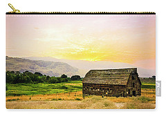 Twilight At The Okanagan Farm House Canada Carry-all Pouch
