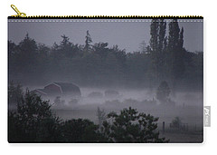 Farm In Fog Carry-all Pouch