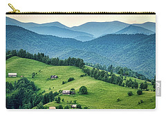 Farm In The Mountains - Romania Carry-all Pouch