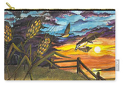 Farm Sunset Carry-all Pouch