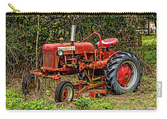 Carry-all Pouch featuring the photograph Farmall Cub by Christopher Holmes