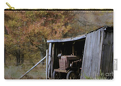 Carry-all Pouch featuring the photograph Farmall Tucked Away by Benanne Stiens