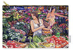 Farmer Market H Carry-all Pouch by Tim Gilliland