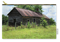 Carry-all Pouch featuring the photograph Farmhouse Abandoned by Doug Camara