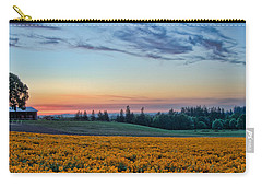 Farmhouse Among The Wallflowers Carry-all Pouch