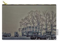 Farmhouse In Morning Fog Carry-all Pouch