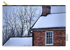 Carry-all Pouch featuring the photograph Farmhouse Window by Robert Geary