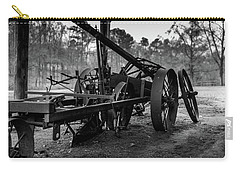 Carry-all Pouch featuring the photograph Farming Equipment by Doug Camara