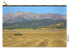 Carry-all Pouch featuring the photograph Farming In The Highlands by David Chandler