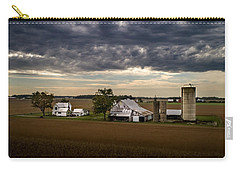 Farmstead Under Clouds Carry-all Pouch