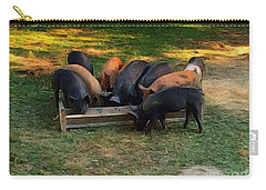 Farmyard Pigs Carry-all Pouch