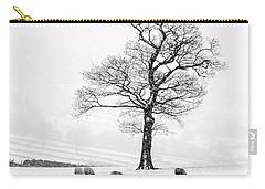 Farndale Winter Carry-all Pouch by Janet Burdon