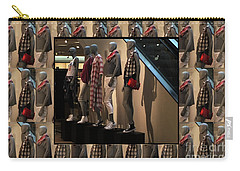 Carry-all Pouch featuring the photograph Fashion Couture Parade Showroom Tshirts Pillows Towels Curtains Christmas Holidays Festival Birthday by Navin Joshi