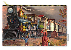 Fast Mail 1875 Carry-all Pouch by Padre Art