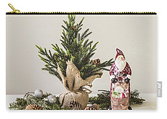 Carry-all Pouch featuring the photograph Father Christmas by Kim Hojnacki