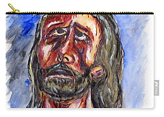 Father Forgive Them Carry-all Pouch by Clyde J Kell