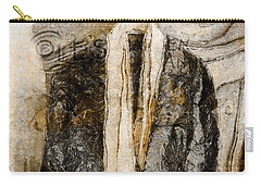 Carry-all Pouch featuring the photograph Father's Coat by Claire Bull