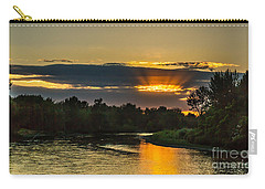 Father's Day Sunset Carry-all Pouch