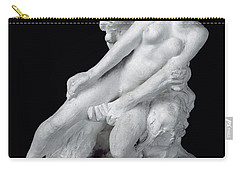 Faun And Nymph Carry-all Pouch by Auguste Rodin