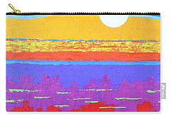 Fauvist Sunset Carry-all Pouch by Jeremy Aiyadurai
