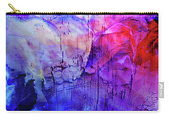 Faux Chasm Carry-all Pouch