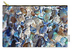Faux Sea Glass Carry-all Pouch