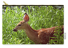 Fawn In The Meadow Carry-all Pouch