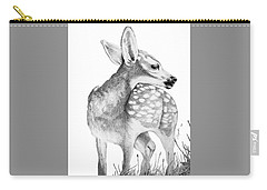 Fawn Carry-all Pouch by Lawrence Tripoli
