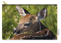 Fawn Over The Shoulder Carry-all Pouch